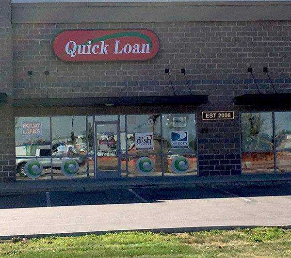 Quick loan - only cash?